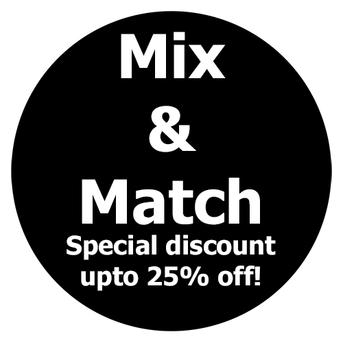 MIX & MATCH DISCOUNT